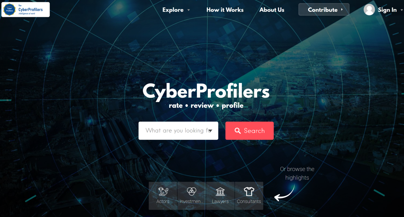 CyberProfilers Screenshot